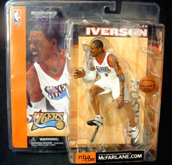 McFarlane NBA Allen Iverson [Variant] Philly 76ers Rookie | Sportspicks Series 1 Collectible Figure