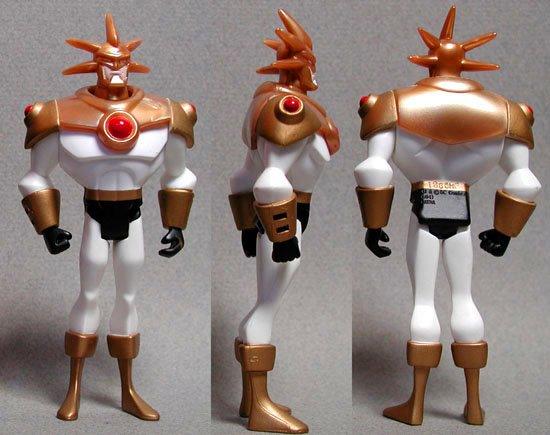 JLU Aztek Aztec Justice League Unlimited Mattel DC Universe Action Figure C-9 100% Complete