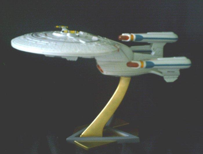 Star Trek TNG Starship Enterprise 1701 D All Good Things Future Model Transformer