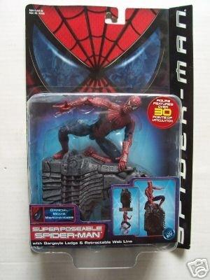 Spider-Man Super Poseable Toybiz | Marvel Movie Legends Spiderman Action Figure