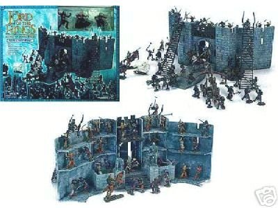 Lord of the Rings AOME Miniatures Environment: Battle Helm's Deep LotR 1:24 Armies Middle-earth (FS)