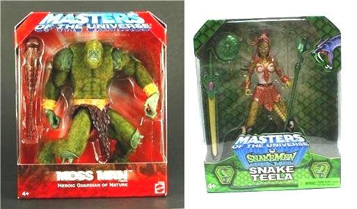 MOTU He-Man Mailaway Teela Moss Man 200X Classic +Bonus Masters Universe
