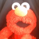 "Fisher-Price Sesame St. Henson Muppet Elmo Jumbo 18"" Plush Toy Vtg Backpack Buddy Book Bag"