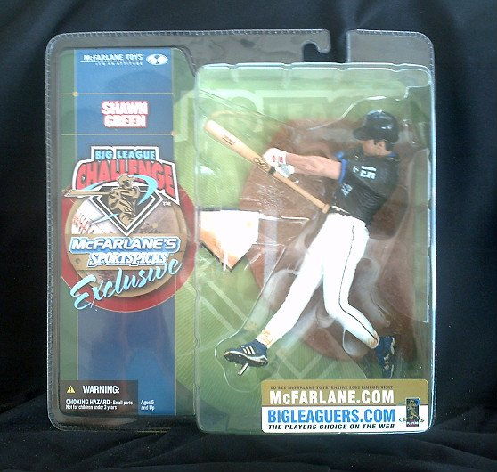 "2002 MLB Shawn Green Exclusive Variant Figurine McFarlane Sports 6"" AF"