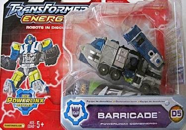 Transformers Bruticus Maximus Combiner Energon Barricade D5 G1 Universe Onslaught RID MISB