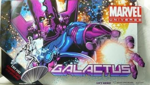 "Marvel Universe Masterworks Galactus w/ Silver Surfer 19"" Legends 2010 Hasbro"