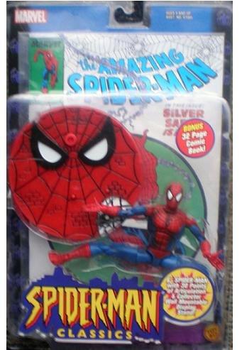 Spider-Man Classics McFarlane Spiderman Figure Marvel Legends MOC