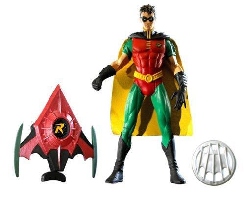"Robin Figure (Red, Tim Drake) DC Universe DCUC DCU Classics Batman 6"" Mattel 2003 Four Horsemen"