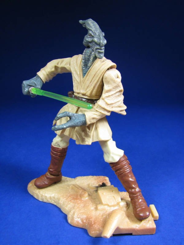 Hasbro Star Wars 84991: Coleman Trebor-Jedi (Geonosis Arena) Saga aotc 2003 Complete [loose figure]