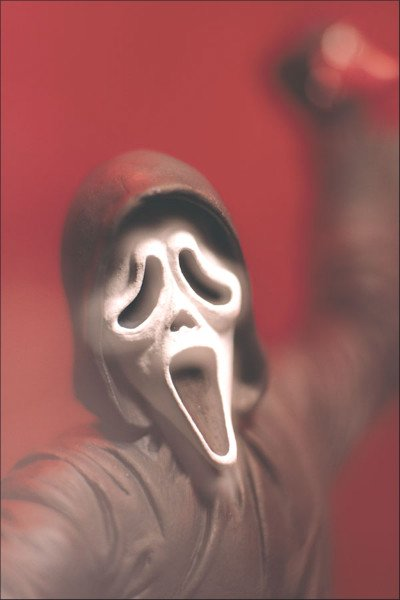 1999 Movie Maniacs 2: Scream Ghostface McFarlane Toys-Wes Craven Horror 7 inch AF