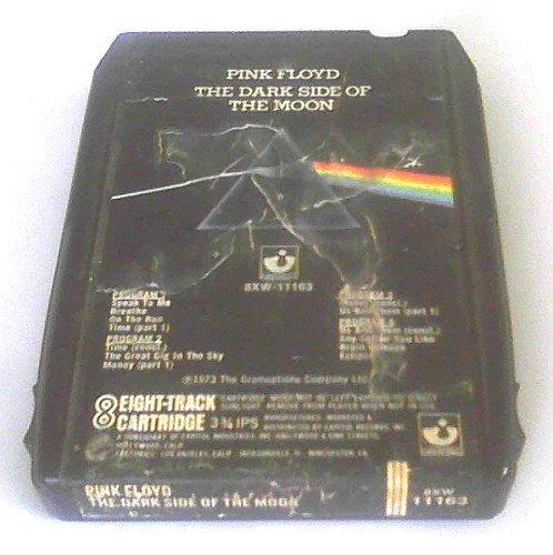 Pink Floyd 8 Track Tape Dark Side of the Moon (1973 Harvest Records)| Pre Quad Q8 DSOTM