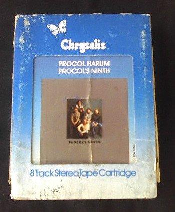 Procol Harum 8-Track Tape Cartridge-1970s Classic Rock-Chrysalis Records sku# 1080