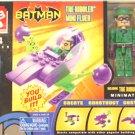 C3 (Lego) Batman DC Minimates Riddler Mini Flyer • JLA Justice League 2004 Art Asylum