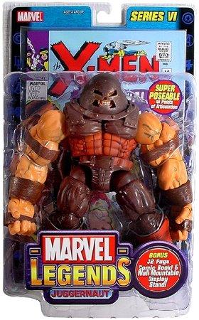 Marvel Legends 71109: Juggernaut Series VI 6 Toybiz 2004-Jim Lee X-Men action figure