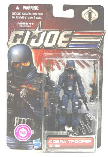 2011 GI Joe 30th Pursuit Cobra Trooper (The Enemy) MOC ARAH Figure