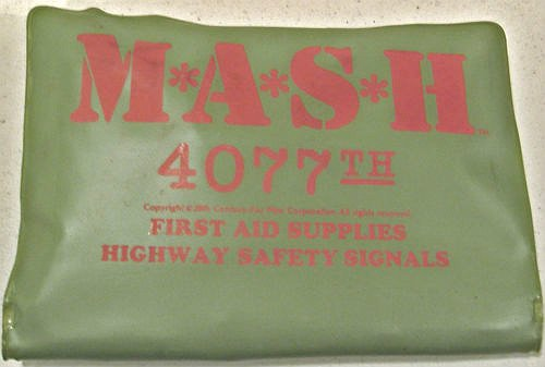 Mash 4077th Medical First Aid Kit-Vtg Military-TV Prop-20th Century Fox M*A*S*H