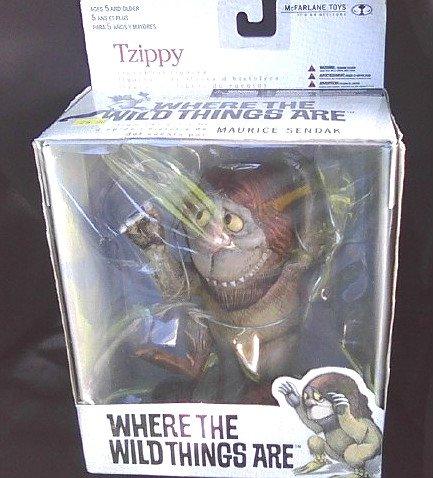 2000 Mcfarlane Toys Tzippy Figure Maurice Sendak Where the Wild Things Are   Spawn Box Set