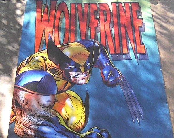 1994 Marvel Comics Jim Lee X-Men Wolverine LE Art Poster #4360 Vintage
