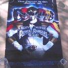1995 Power Rangers: MMPR Original Movie Poster, OG Cast, Bandai Saban - 20th Anniversary