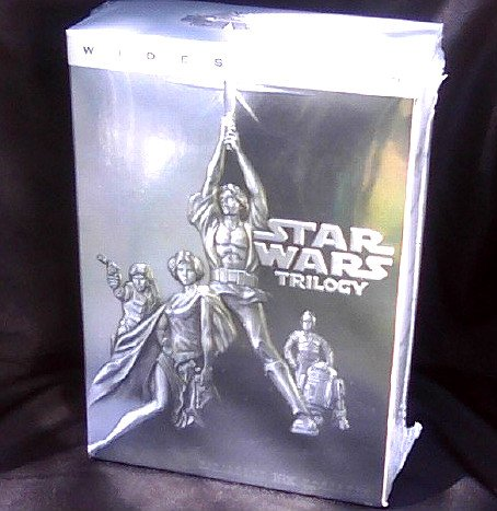 Star Wars Original Trilogy DVD Set WS New Sealed Harrison Ford, Mark Hamill OOP