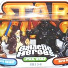 Playskool Galactic+Heroes 2Pack: Obi-Wan/Darth+Vader (New Hope) 2004 Hasbro Star Wars