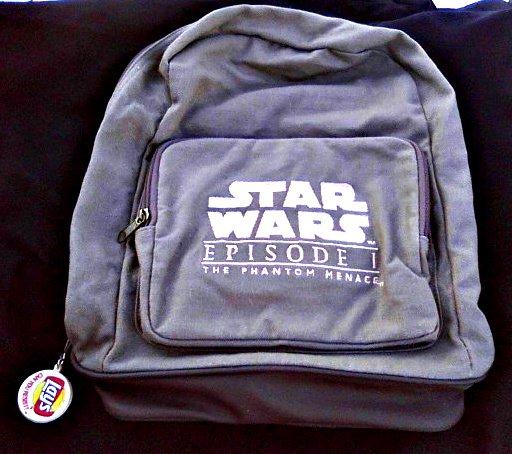 Star Wars Prop Lifesize Pepsi Frito Promo Ep1 TPM Anakin Backpack Replica
