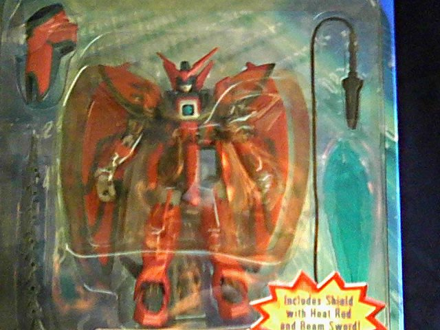 """Gundam Wing Epyon Bandai Limited Msia Mobile Suit 4.5"""" AF [null]"""