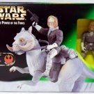 MISB Star Wars PotF Han Solo & Tauntaun Deluxe Kenner Collection 1998 ESB Hoth Beast Hasbro 84017