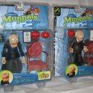Statler & Waldorf Muppets Palisades Series 6 Figure Set Jim Henson Muppet Show 25 Years (2003)