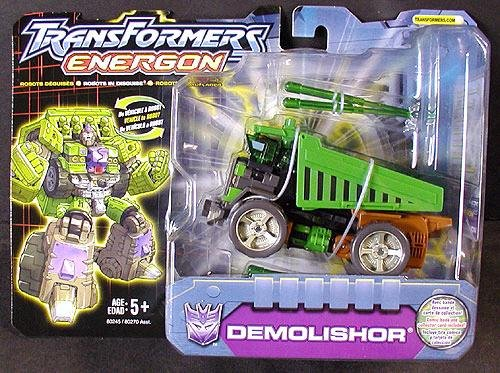 2003 Hasbro TF: Energon Demolishor Deluxe Combat Class # 80245 [Transformers Movie ROTF Demolisher]