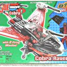 GI Joe Kit 6505 Btr (Lego) Vehicle Cobra Raven Wild Weasel (MISB)| 2003 Hasbro Built to Rule