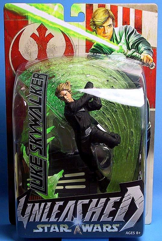Luke Skywalker Unleashed Star Wars RotJ Jedi 1/10 Statue, 2003 Saga Hasbro 84797