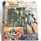 """Hasbro Star Wars 84844: 2003 Clone Wars Durge/Swoop Speeder Deluxe 3.75"""" MOC"""