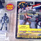 "Hasbro 57450: GI Joe Bonus 3-Pack > Alley Viper Duke Cobra Commander 3.75"" 2002 Kmart Exclusive"