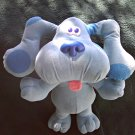 1997 Fisher Price/Tyco Blues Clues Sing-Along Blue Stuffed Plush Toy Doll Dog, Mattel Viacom 39956