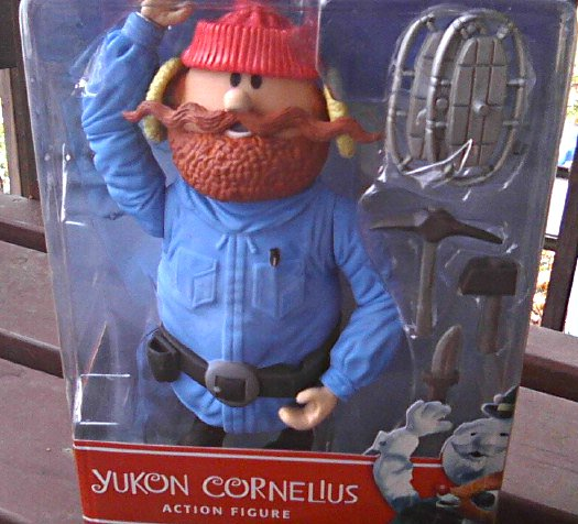 Rudolph Yukon 6in Figure-Bumble Snow Monster-Abominable Snowman-Misfit Toy | Rankin Bass TV Classic