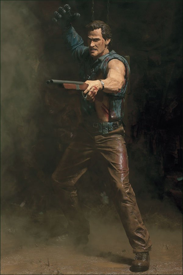 Evil Dead 3: Army of Darkness Hero Ash Figure Bruce Campbell-McFarlane Movie Maniacs-Spawn-Neca
