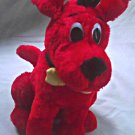 "Clifford Big Red Dog Large Stuffed 12"" Plush Toy, Scholastic PBS 2001"