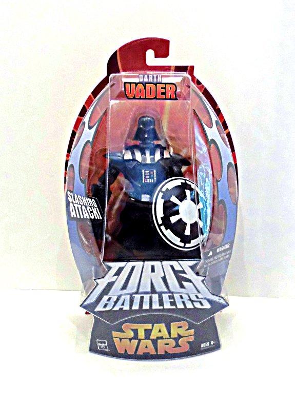 """Darth Vader Figure for Star Wars Black 6"""" ROTS Force Battlers"""
