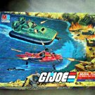 1985 GI Joe Lot 4 Mural Puzzles Battle Set MB Games Jigsaw Hasbro Whale Hovercraft Cobra Rattler