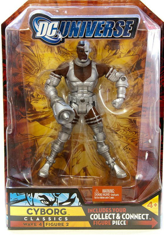 DCUC Cyborg (Super Powers) Despero BAF Series, Wave 4 Teen Titans, Justice League Mattel