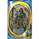 "ToyBiz LOTR 81306: Uruk-Hai 6"" Lord of the Rings ROTK 2003 • Gentle Giant Hobbit"