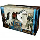 LotR RotK Deluxe Horse & Rider Legolas & Arod | Toybiz Lord of the Rings 2003 Boxed Set