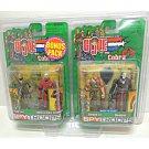 GIJoe Cobra Spy Troop 4-Pack 2003 Walmart Exclusive Claws Commander, Grunt, Destro, CrossHair Sniper
