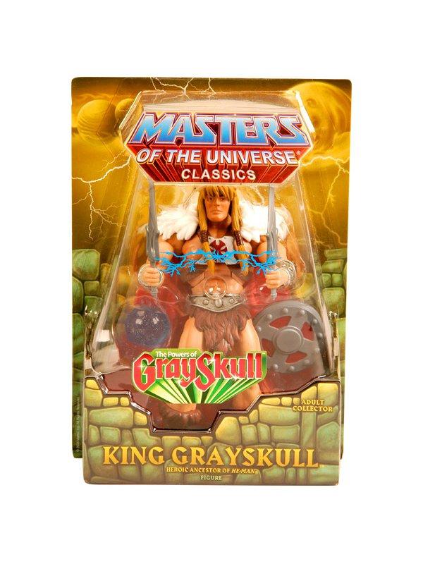 Mattel T5804: 2010 MOTUC King Grayskull Matty Club Eternia, He-Man Masters of the Universe Classics