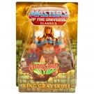 King Grayskull MOTU 2010 Classics Club Eternia Masters of the Universe  200x He-Man Mattel Motuc