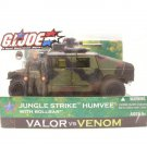 "GI Joe Jungle Humvee Vehicle (Night Ops) + Rollbar 3.75"" 1:18 2005 Valor Venom"