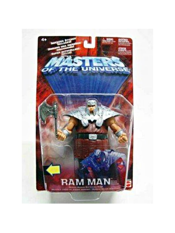 Mattel MOTU 200x Ram Man 2002 He-Man Masters Universe Modern Classics #55576