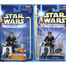 Hasbro Star Wars Saga: Han Solo (Echo Base) Esb Hoth set both variants blue & brown coat