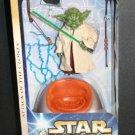 """Star Wars Yoda 1:6 figure 12"""" Jedi Master 2003 Saga Hasbro 84998 • Sideshow Hot Toys scale"""